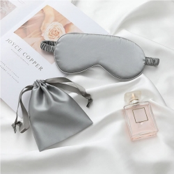 Littledesire Mulberry Silk Sleep Eye Mask With Pouch