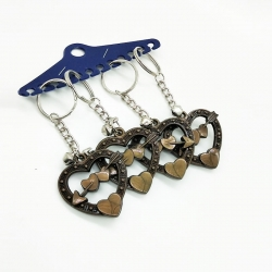 Heart Shape keychain Pack Of 4