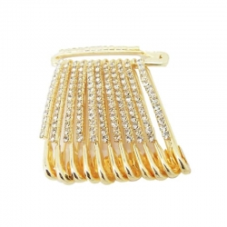 Fashions Traditional Saree Pins Safety Pin - 4 Pcs