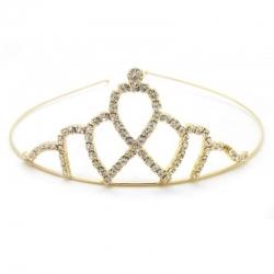 Crystal Rhinestone Princess Queen Crown Party Headband