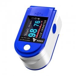 Pulse Oximeter Fingertip Monitoring Pulse Meter Rate & SpO2 Dual OLED Digital Display