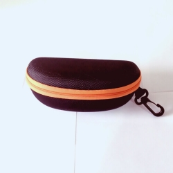 Orange Zipper Sunglasses Case Cover