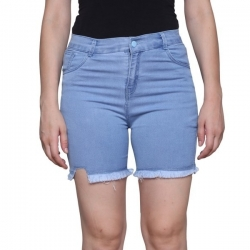 Littledesire Denim Cut Off Shorts