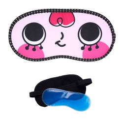 Red-Hair Cartoon With Ice-Gel Sleeping Eye Mask