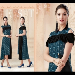 Littledesire Latest Design Printed Long Kurta