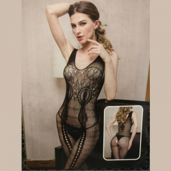 Sexy Bodystockings Black Mesh Lingerie Bodysuit