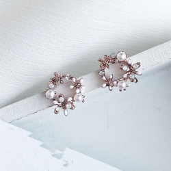 Littledesire Latest Flower Design Stud Earrings
