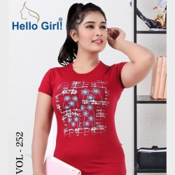 Littledesire Printed Cotton Half Sleeve T-Shirt