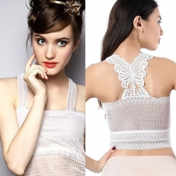 Women Lace Bra Wrapped Chest Camisole