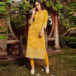 Littledesire Stylish Printed Straight Kurta