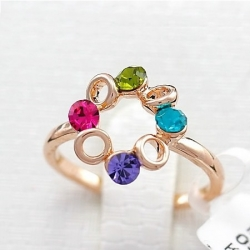 Ferris Wheel of Happiness Colorful Ring
