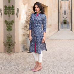 Summer Printed Cotton Kurta
