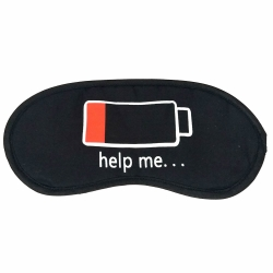 Littledesire Battery Down Help Me Sleep Eye mask