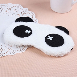 Cute Panda Cross Sleeping Face Eye Mask