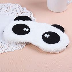 Cute Panda Cross Sleeping Face Eye Mask