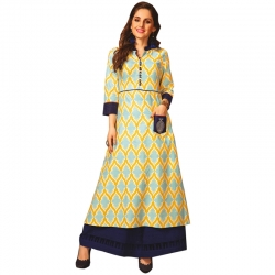 Littledesire Stylish Printed Knee Length Kurta