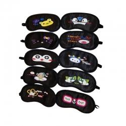 Birthday Party Return Gifts Kids Eye Mask Random Pattern - 10 Pcs Lot