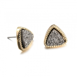 Cute Triangle Geometric Stud Earrings