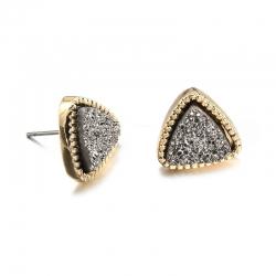 Cute Triangle Geometric Stud Earrings