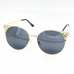 Classic Design Golden Metal Frame Women Sunglasses
