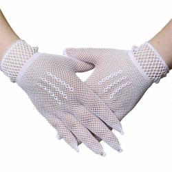 Stylish Fishnet Lace Full Finger Net Gloves