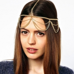 Bridal Hair-Wear Multi Layer Hair Band