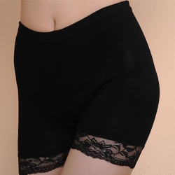 Lace Under Safety Shorts