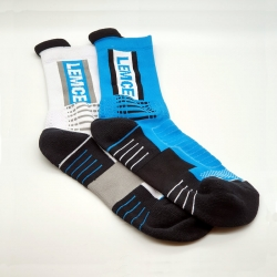 Sports Lemce Cotton Men Socks - 2 Pairs