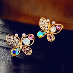 Littledesire Cute Butterfly Earrings