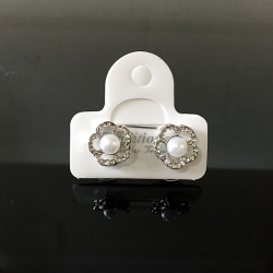 Diamond Stud Flower Earring