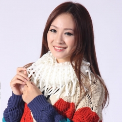 Winter Warm Hollow Tassel Shawl Knit Scarf Ring