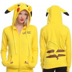 Pokemon Pikachu Hoodie Sweatshirt Jacket