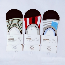 Unisex Cotton Loafer Socks - 3 Pairs