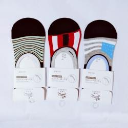 Unisex Cotton Loafer Socks - 3 Pairs