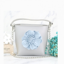 Stereo Flowers Small Tote Girls Bag