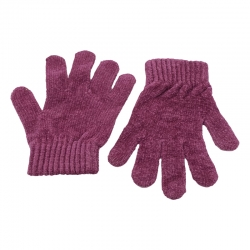 Littledesire Full Finger Purple Woollen Winter Gloves
