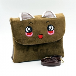 Littledesire Cute Cartoon Faux Fur Kids Girls Sling Bags