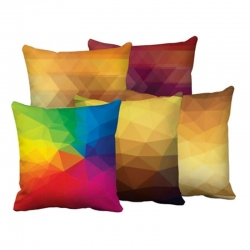 Digital Printed Cushion Covers 16 x 16 inch Pack of 5