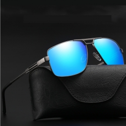 Unisex Alloy Frame Polarized Sunglasses