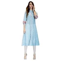 Littledesire Designer Front Slit Cotton  Kurta