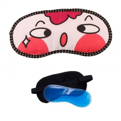 Littledesire OoAngry Cute Cartoon With Ice-Gel Sleeping Eye Mask