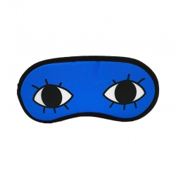 Littledesire Print Open Eye Sleeping Eye mask