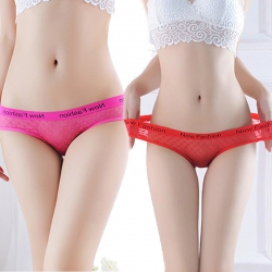 New Fashion Transparent Lace Panties (Pack of 2)