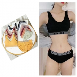 Sport Love Sports Bra Panty Set With Removable Bra Pads