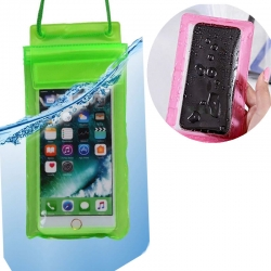 Waterproof Transparent Mobile Pouch 6.2 inch Pack of 2