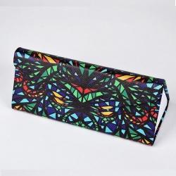Fashion Multicolor Foldaway Slim Sunglass Case