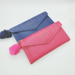 PU Leather Clutch Hasp Wallet Pack of 2