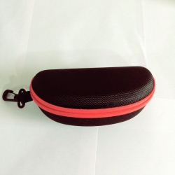 Red Zipper Sunglasses Case Cover