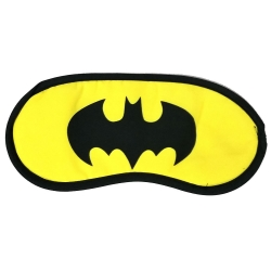 Littledesire Batman Logo Yellow Sleeping Eye mask