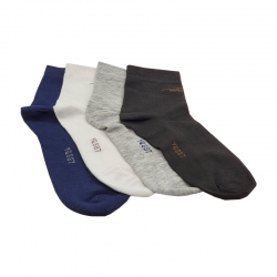 Littledesire Cotton Men Socks - 4 Pairs